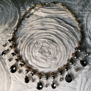 💎Mixed Metal Statement Necklace💎